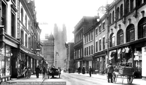 Photo of Wrexham, Hope Street 1903