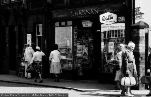 Photo of Wrexham, J.Hannan, Rhosddu Road c.1965