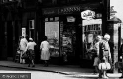 Wrexham, J.Hannan, Rhosddu Road c.1965