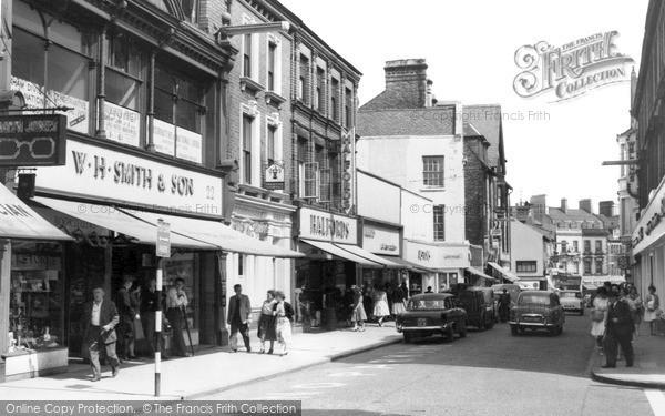 Photo of Wrexham, Regent Street c.1960