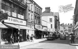 Wrexham, Regent Street c.1960