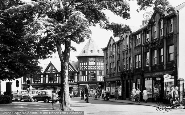 Photo of Wrexham, Rhosddu Road c.1965