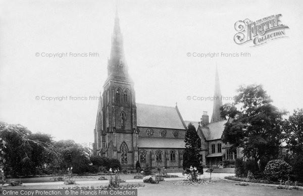 Photo of Wrexham, Roman Catholic Church And Presbytery 1895