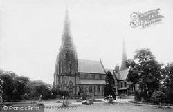 Wrexham, Roman Catholic Church And Presbytery 1895
