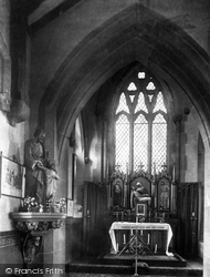 Wrexham, Roman Catholic Church, Lady Altar 1895