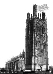 Wrexham, St Giles' Church, Peel's Monument 1895