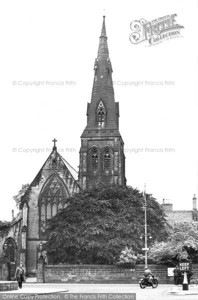 Photo of Wrexham, St Mary's Church c.1955