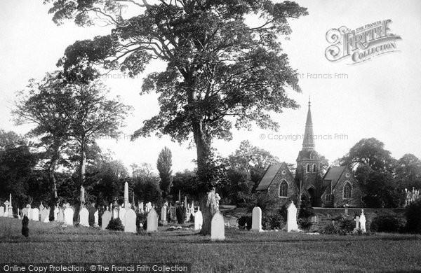 Photo of Wrexham, The Cemetery 1895