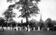 Wrexham, the Cemetery 1895