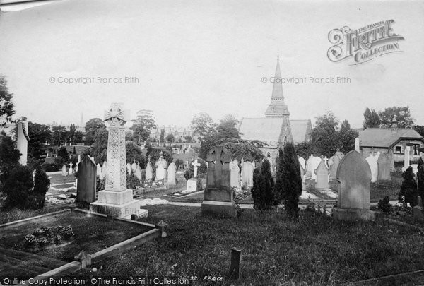 Photo of Wrexham, The Cemetery 1895