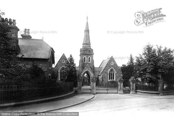 Photo of Wrexham, The Cemetery, Lodge And Entrance 1895