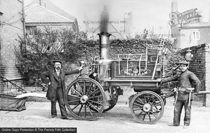 Photo of Wrexham, The Fire Engine c.1900