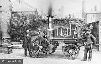 Wrexham, the Fire Engine c1900
