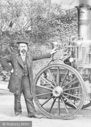 Wrexham, The Fire Engine c.1900