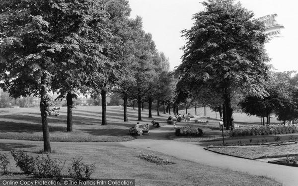 Photo of Wrexham, The Parciau c.1965