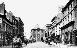 Wrexham, Town Hall In High Street 1895