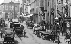 Wrexham, Traffic, High Street 1895