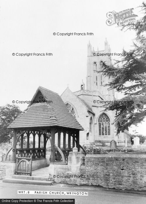 Photo of Wrington, All Saints Church c.1960