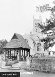 Wrington, All Saints Church c.1960