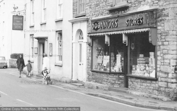 Photo of Wrington, Broad Street, Amors Stores c.1965
