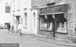 Broad Street, Amors Stores c.1965, Wrington