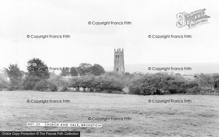 Photo of Wrington, Church And Vale c.1965