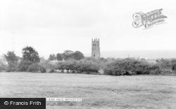 Wrington, Church And Vale c.1965