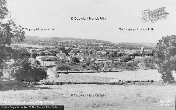 Photo of Wrington, General View c.1960