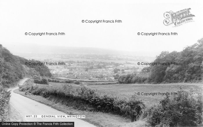 Photo of Wrington, General View c.1965