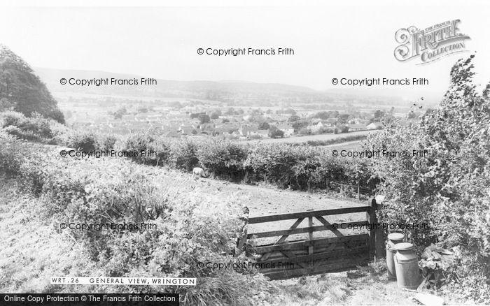 Photo of Wrington, General View c.1965