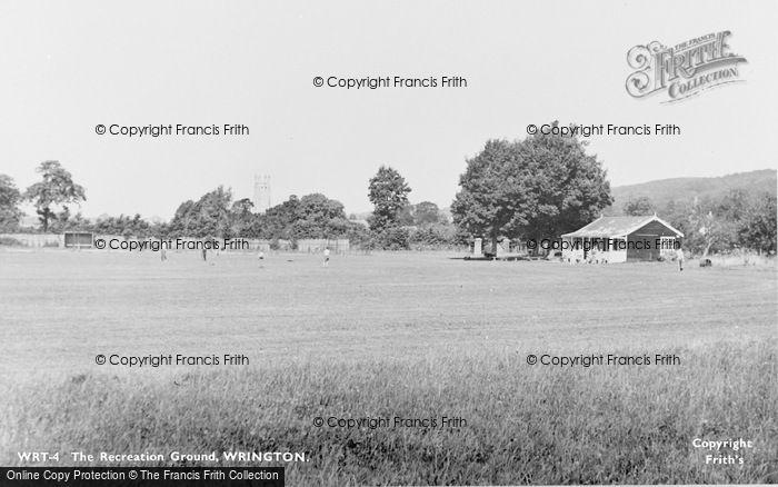 Photo of Wrington, Recreation Ground c.1960