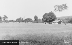 Wrington, Recreation Ground c.1960