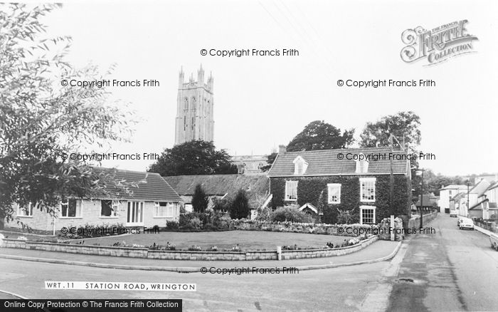 Photo of Wrington, Station Road c.1965