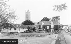 Station Road c.1965, Wrington