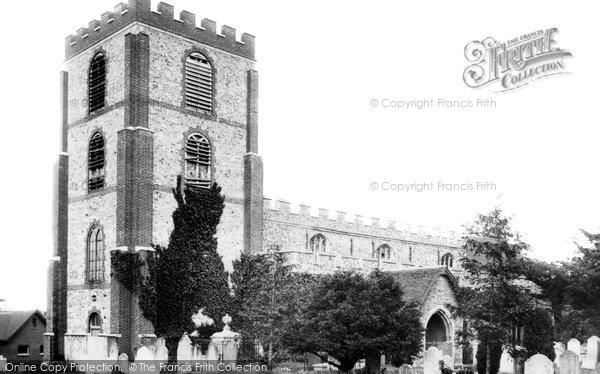 Photo of Writtle, All Saints Church 1898