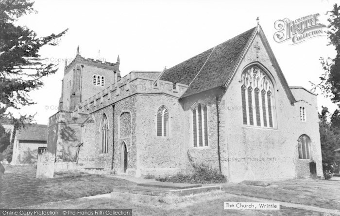 Photo of Writtle, All Saints Church c.1940