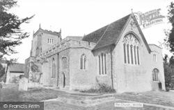 Writtle, All Saints Church c.1940