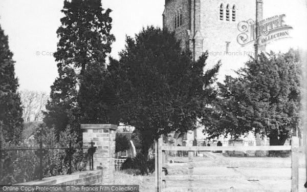 Photo of Writtle, All Saints Church c.1955