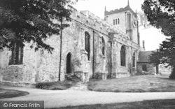 Writtle, All Saints Church c.1960