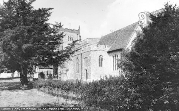 Photo of Writtle, All Saints Church c.1965