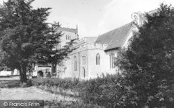 Writtle, All Saints Church c.1965