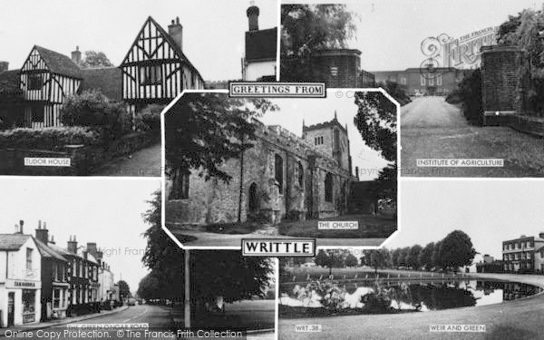 Photo of Writtle, Composite c.1960