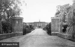 Writtle, Institute Of Agriculture c.1965
