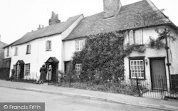 Writtle, Old Cottages, St John's Green c.1960