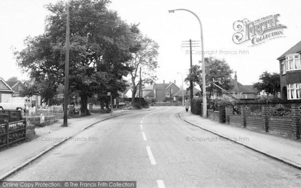 Photo of Writtle, Ongar Road c.1960