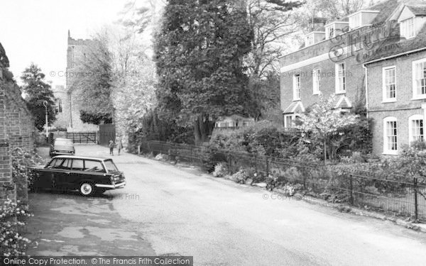 Photo of Writtle, Roman Place And Church c.1965