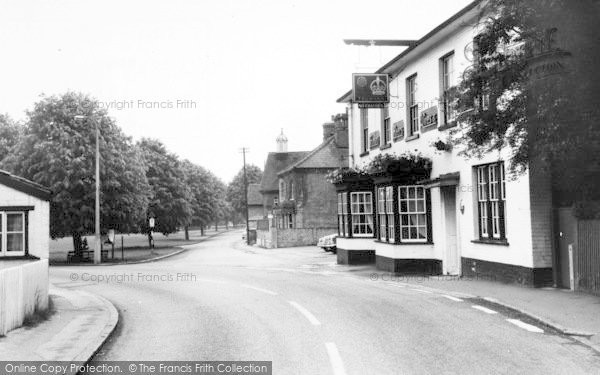 Photo of Writtle, The Crown And Green c.1960