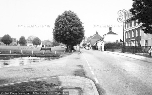 Photo of Writtle, The Green And Ongar Road c.1965