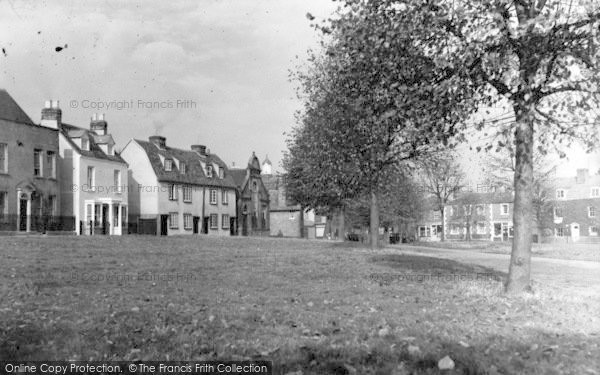 Photo of Writtle, The Green c.1955