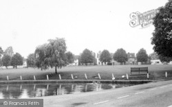 Writtle, The Green c.1960